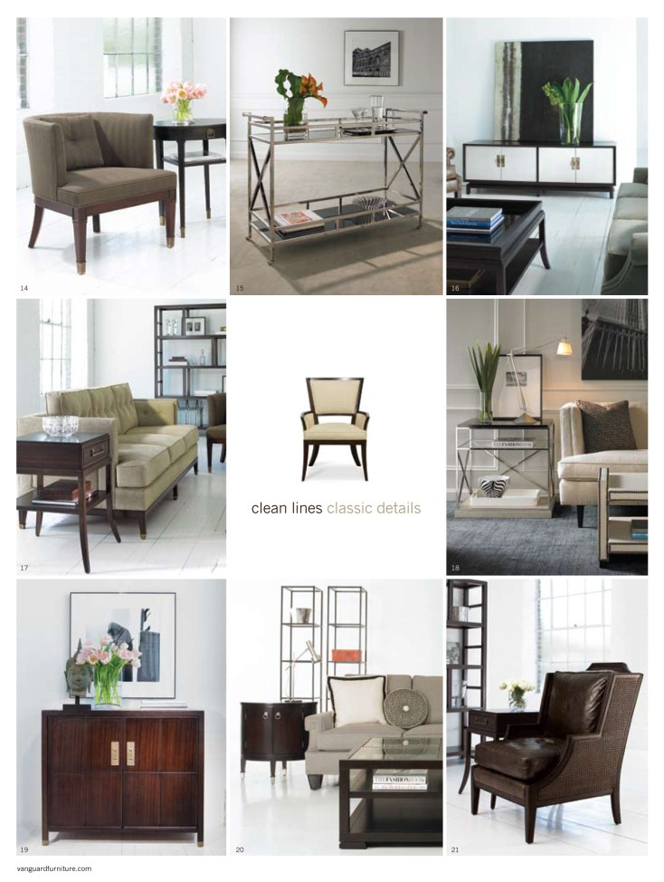 Brice Presents The Michael Weiss Collection From Vanguard Furniture