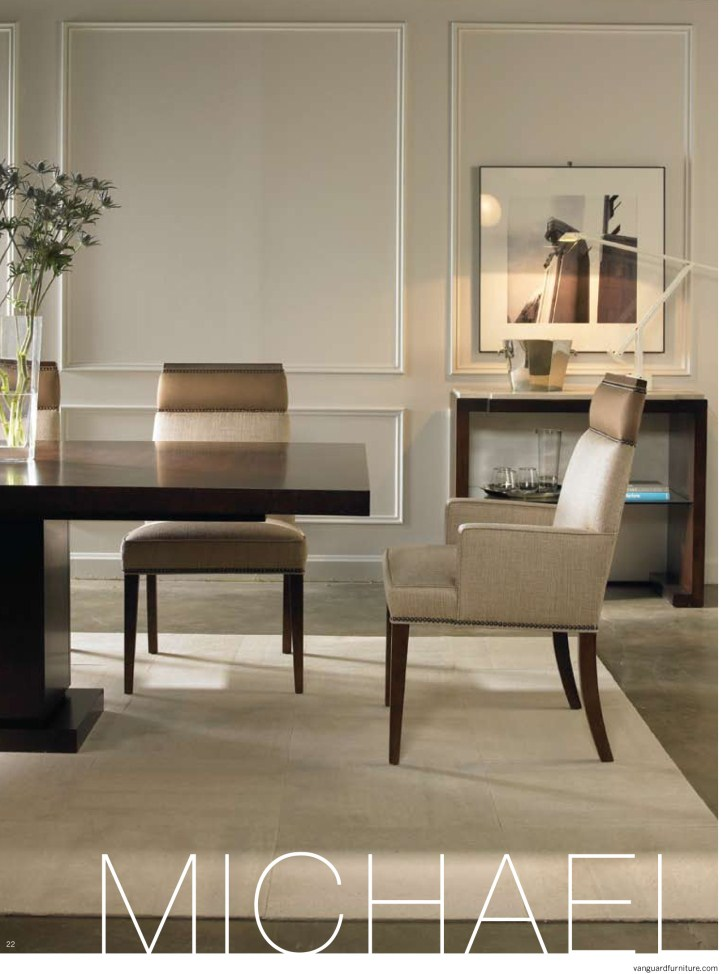Brice Presents The Michael Weiss Collection From Vanguard Furniture.